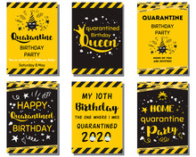 Quarantine Birthday Set Home P...