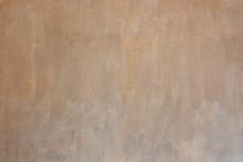 Orange Plastered Walls With Da...