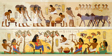 Life Of Egyptians. History Art...