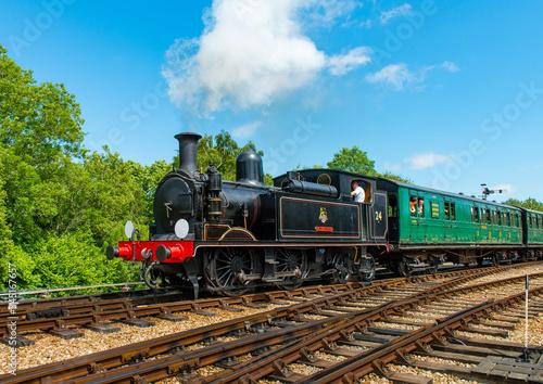 Obraz na plátně old steam train