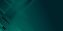 Luxury Dark Green Background With Overlap 3D Layer