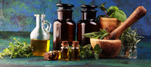 Homegrown And Aromatic Herbs O...