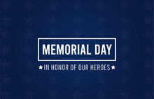 Memorial Day Card. National Am...