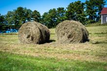 Three Hay Bales