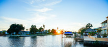 Florida Hernando Beach Landscape, Luxury Waterfront House