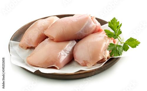 Obraz na plátně fresh raw chicken meat