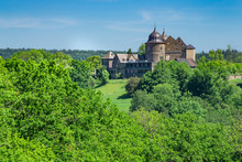 The Sababurg, The Castle Of The Sleeping Beauty In Germany