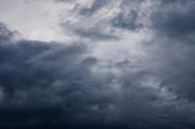 Dark Clouds In The Sky Above ...