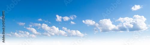 Fototapeta Sky clouds summer panorama obraz