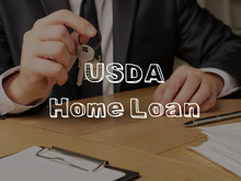 USDA Home Loan Is Shown On The...