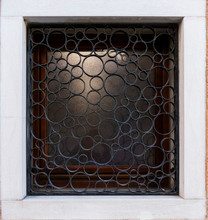 Window With Decorative Securit...