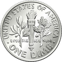 American Money Roosevelt Dime,...