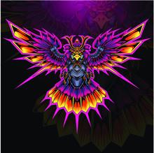 Eagle Armor Esport Mascot Logo