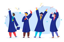 Student Graduate Vector Illust...