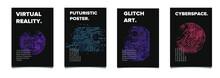 Set Of Cyberpunk/ Vaporwave/ S...