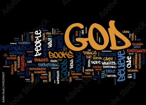 Word Cloud Summary of First An Atheist Then An Agnostic And Now A Believer Artic Wallpaper Mural