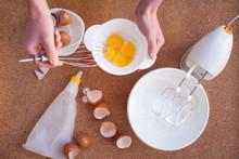 Step By Step Recipe Of Meringu...