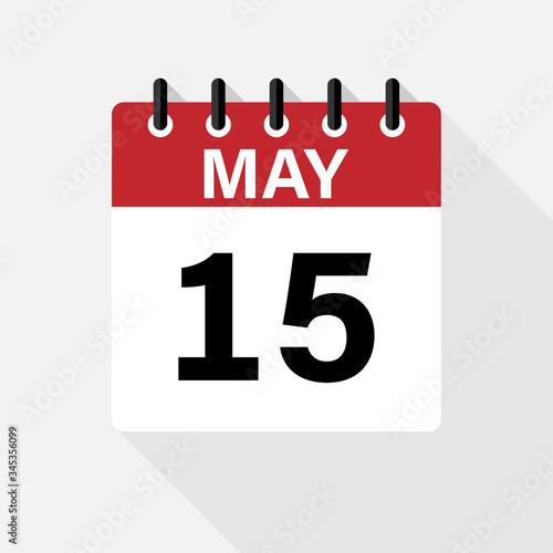 Vászonkép May - Calendar Icon