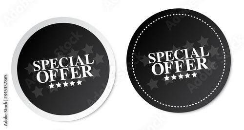 Photo Special Offer Stickers