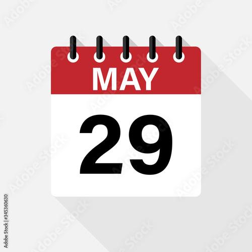 May - Calendar Icon Tapéta, Fotótapéta