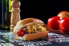 Gourmet Hot Dog Has Just Been ...