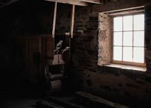 Inside Of Abandonded Mill, Lig...
