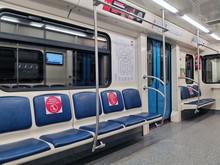 May 2020, Moscow, Metro. Empty...