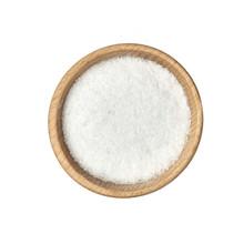 Sól W Małej Miseczce Z Drewn...