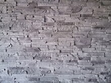 Ściana Z Kamienia - Szara