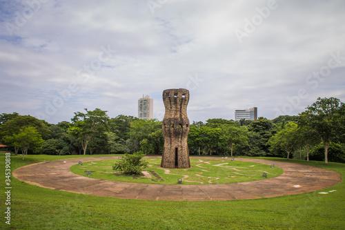 Fotografia, Obraz Nature in a big  city - Parque das Nações Indígenas - Campo Grande - Mato Grosso