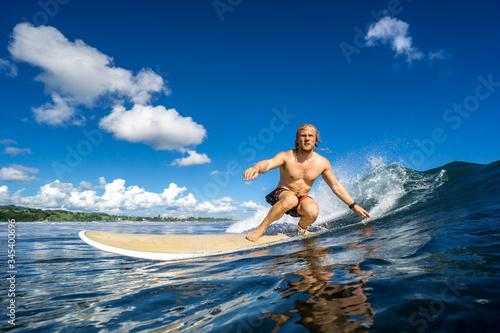 surfing in Mauritius Fotobehang