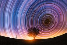 Beautiful Night Landscape, The...