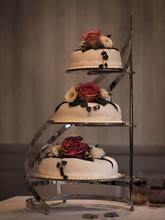 Multi Tiered Wedding Cake