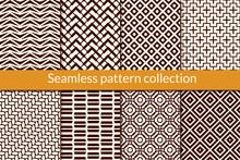 Geometric Seamless Pattern Col...