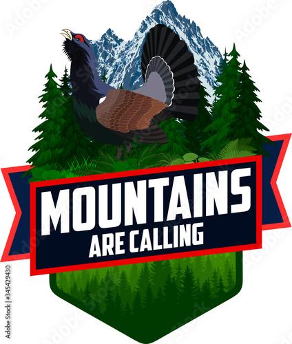 Fotografija The Mountains Are Calling