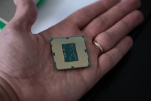 The Processor Is A Small Chip ...