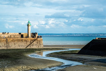 Harbor In Brittany, France, Du...