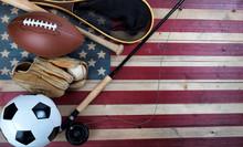 Sport Equipment For Baseball, ...