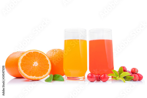 Orange juice and acerola - Brazilian Fruit healthy Canvas Print