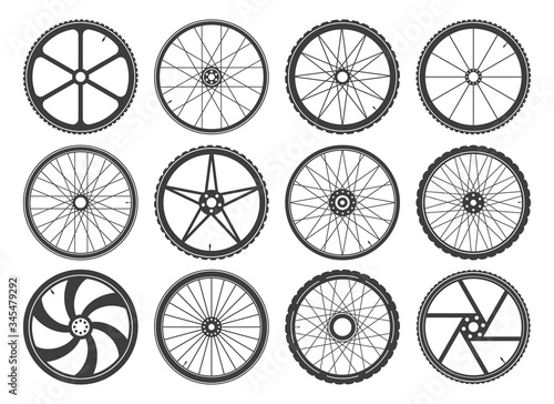 Bmx cycling wheels Canvas Print