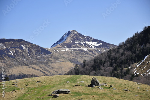 Photo Montagnes Cantal Auvergne