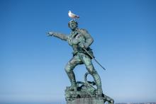 Statue Of The Corsair Surcouf ...