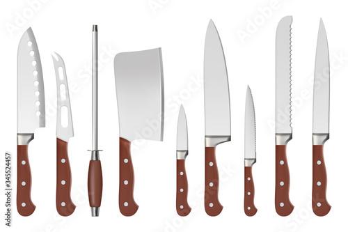 Knives Wallpaper Mural