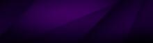 Dark Violet Background For Wide Banner