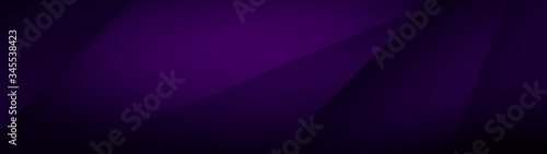 Obraz na płótnie Dark violet background for wide banner