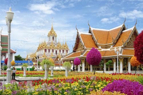 templo de bangkok Canvas Print