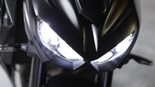 Motorcycle Led Lights On