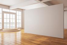 Minimalistic Gallery Interior ...