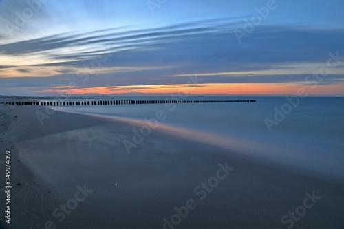 Fototapeta Zachód słońca... obraz