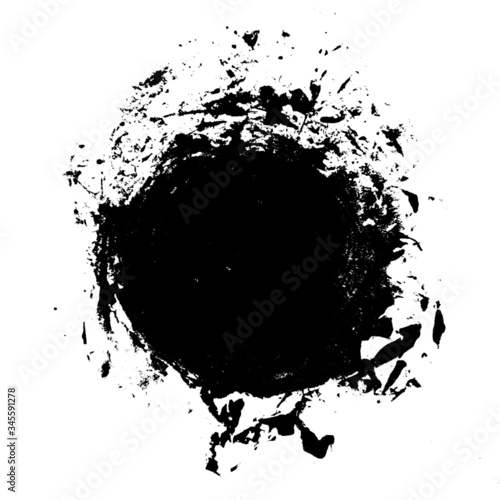 Fototapeta Grunge Distressed Paint Background Overlay obraz na płótnie